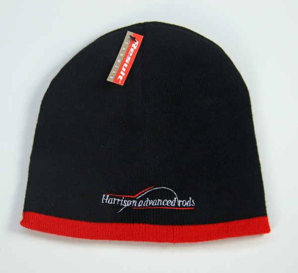 Harrison Black Beanie Hat