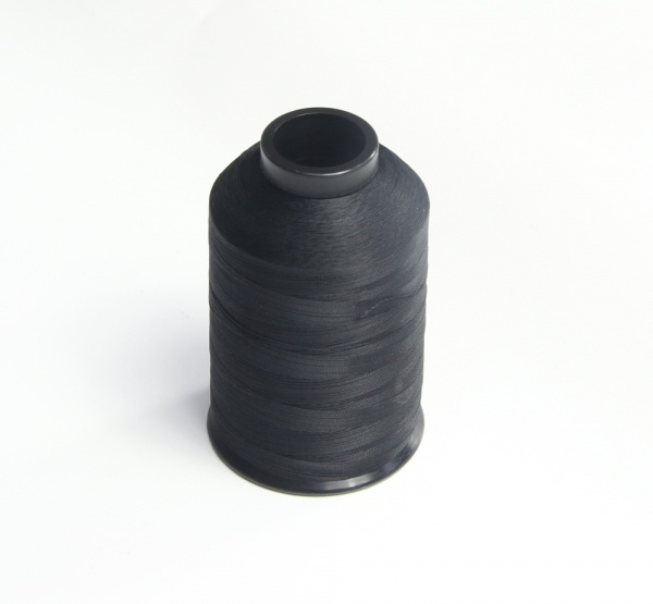 Black whipping thread grade D 4oz